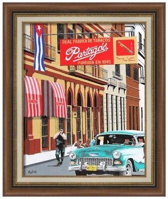 Partagas Cuban Cigars (Cuban Partagas Factory - Havana, Cuba Poster, 13 x)
