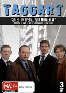 Taggart-Collection-Special-25th-Anniversary-3-Disc-DVD-Aus-Region-4-Free-Post