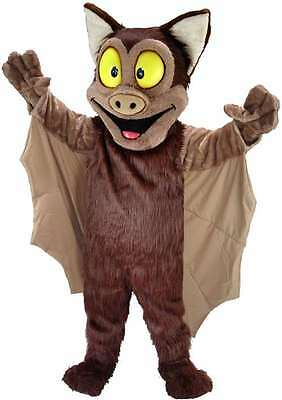 Brown Bat Professional Quality Lightweight Mascot Costume](Brown Bat Costume)
