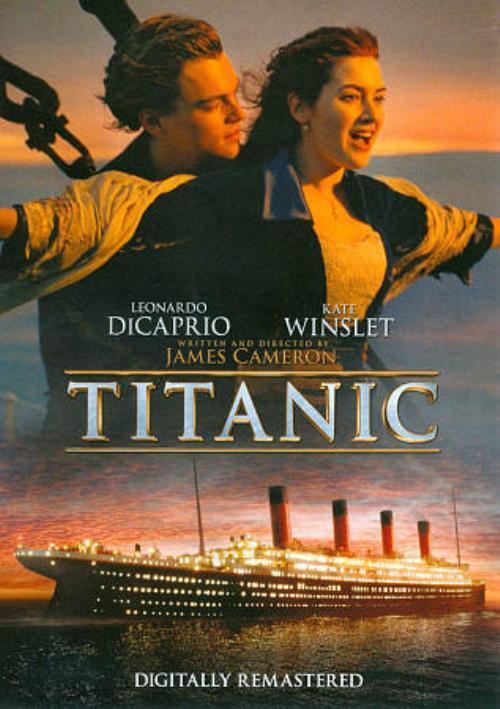 TITANIC NEW DVD