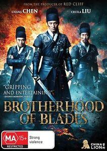 NEW & SEALED Brotherhood of Blades NEW DVD Region 4 Australia