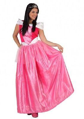 Costume Woman Princess Pink XL 44 Renaissance Drawing Cartoon New Cheap (Cheap Renaissance Costume)