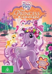 My Little Pony - Princess Promenade (DVD, 2014)-FREE POSTAGE