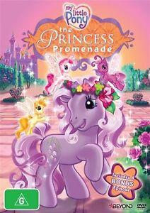 My Little Pony - Princess Promenade - DVD Region 4 Brand New Free Shipping