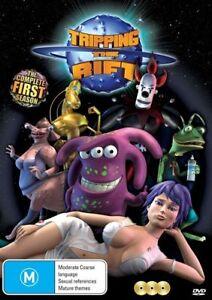 Tripping The Rift : Season 1 (DVD, 2012, 3-Disc Set) BRAND NEW SEALED