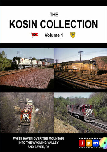 DVD The Kosin Collection Vol 1 Lehigh Valley and D&H 1970