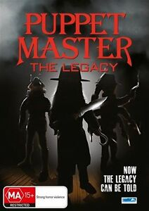 Puppet Master - The Legacy (DVD, Horror) New/Sealed!