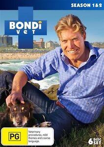 BRAND NEW SEALED Bondi Vet : Series / Season 1-2 (DVD, 6-Disc Set)