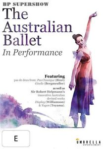 The Australian Ballet In Performance (DVD, 2015)