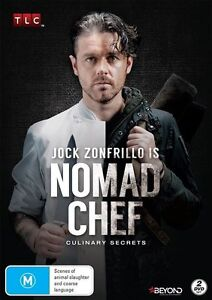 Nomad Chef - Culinary Secrets (DVD, 2015, 2-Disc Set), NEW SEALED REGION 4