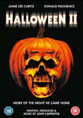 Halloween II 2 (Jamie Lee Curtis, Donald Pleasence) Two New Region 2 DVD