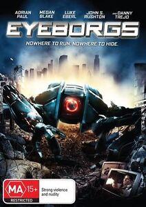 Eyeborgs (DVD) NEW SEALED REGION 4