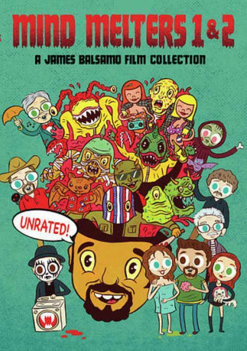 MIND MELTERS 1 & 2 - A JAMES BALSAMO FILM COLLECTION NEW DVD