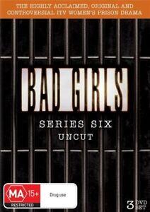 BAD GIRLS - SERIES 6 - UNCUT (3 DVD SET) BRAND NEW!!! SEALED!!!