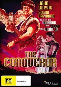 The Conqueror (John Wayne) DVD R4 Brand New!