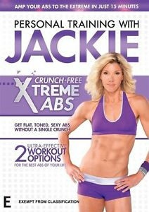 Personal Training With Jackie Crunch-Free Xtreme Abs - Foxtel's arena DVD NEW