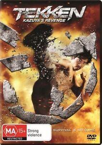 Tekken 2 - Kazuya's Revenge - DVD Region 4 Brand New Free Shipping