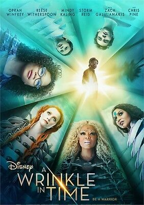 A Wrinkle in Time (DVD, 2018) - Disney - Family Halloween Movies Disney