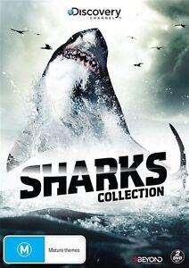 Sharks (DVD, 2016, 2-Disc Set) (Region 4) Aussie Release