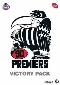 AFL-Premiers-1990-Collingwood-Victory-Pack-NEW-DVD-Region-4-Australia