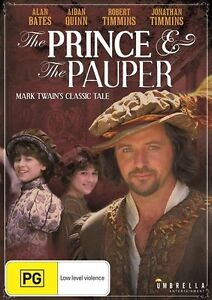 THE PRINCE AND THE PAUPER 2001 = AIDAN QUINN = PAL 4 = SEALED