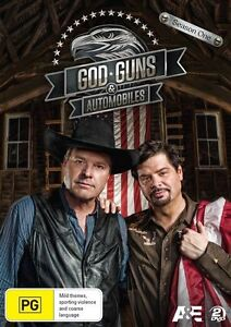 God, Guns & Automobiles: Season 1 (DVD, 2014, 2-Disc Set), NEW SEALED REGION 4