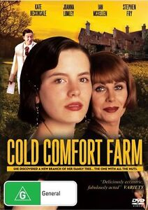 C13 BRAND NEW SEALED Cold Comfort Farm (DVD, 2013) Kate Beckinsale Eileen Atkin