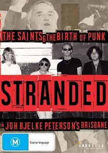 Stranded (DVD, 2016)  ( THE SAINTS & THE BIRTH OF PUNK )