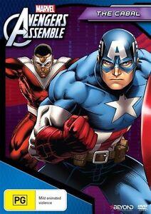 Avengers Assemble: The Cabal DVD NEW