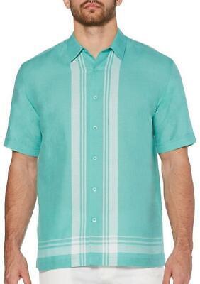 Cubavera Men's Regular-Fit Yarn-Dyed Plaid Linen Shirt, Size M, MSRP $70 Yarn Dyed Plaid Shirt