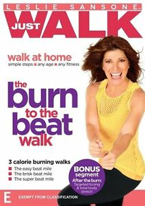 Leslie Sansone Just Walk The Burn to the Beat Walk DVD NEW