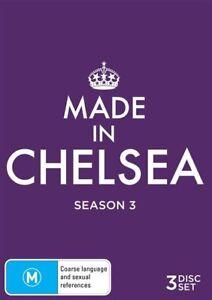 Made In Chelsea: Season 3 (DVD, 2016, 3-Disc Set), NEW SEALED REGION 4