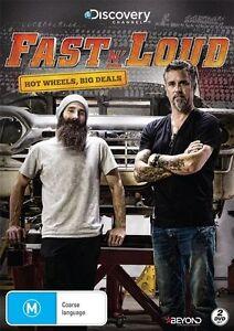 Fast N' Loud - Hot Wheels, Big Deals (DVD, 2016, 2-Disc Set) New & Sealed