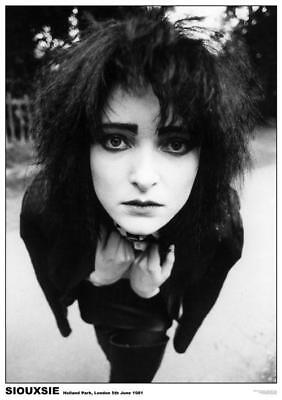 Siouxsie - London 1981- Poster 24 In x 33 In - Wrapped