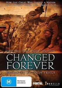 Changed Forever (DVD, 2016) (Region 4) Aussie Release