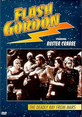 The Original Flash Gordon Collection - The Deadly Ray From Mars (DVD, 2002) OOP