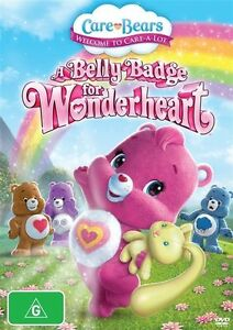 Care Bears - A Belly Badge For Wonderheart (DVD) ~NEW & SEALED ...100% Genuine