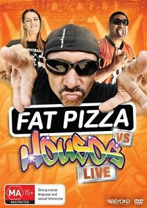 Fat Pizza Vs Housos Live (DVD, 2016) NEW