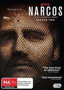 Narcos : Season 2 (DVD, 4-Disc Set) Brand New Sealed Region 4