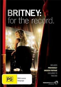 BRITNEY SPEARS Britney: For The Record Documentary DVD BRAND NEW PAL Region 4