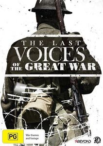 Last Voices Of The Great War (DVD, 2015, 2-Disc Set) - Brand New & FREE POSTAGE