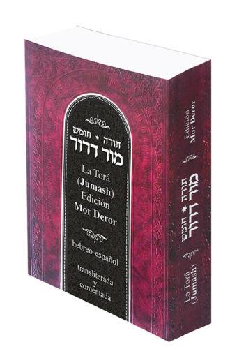 La Tora (Jumash). Mor-Deror. Hebreo-español, transliterada y comentada. 1 tomo