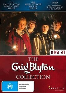 The Enid Blyton Collection (DVD, 2016, 8-Disc Set) RARE: BRAND NEW/SEALED .. R 4