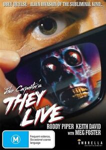 THEY-LIVE-Roddy-Piper-Keith-David-DVD-R4-New-SealedKeith David They Live