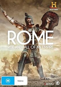 Rome-Rise-And-Fall-Of-An-Empire-DVD-2015-4-Disc-Set-R4-New-amp-Sealed
