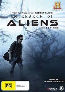 In Search of Aliens : Season 1 : NEW DVD
