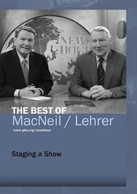 Pbs Newshour  The Best Of Macneil Lehrer   Staging A Show New Dvd