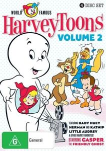 THE HARVEYTOONS SHOW-  VOLUME 2 DVD [New/Sealed]
