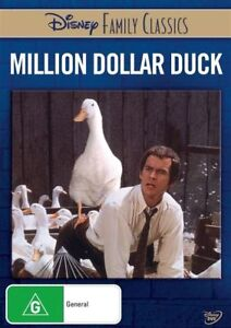 MILLION DOLLAR DUCK R4 DVD New & Sealed FREE POST Disney Family Classics