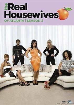 The Real Housewives Of Atlanta  Season 2  Dvd  2011  4 Disc Set  New  Sealed
